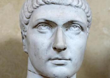 Bust of Constantine in the Vatican Museum.