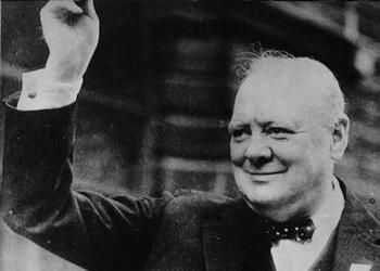 Winston Churchill raising hat - What Is True Leadership?