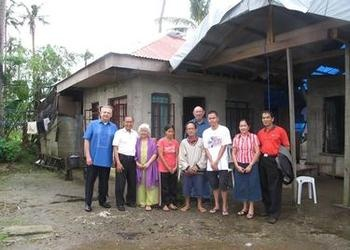 Rebuilt home near Tacloban, Philippines after Typhoon Haiyan.