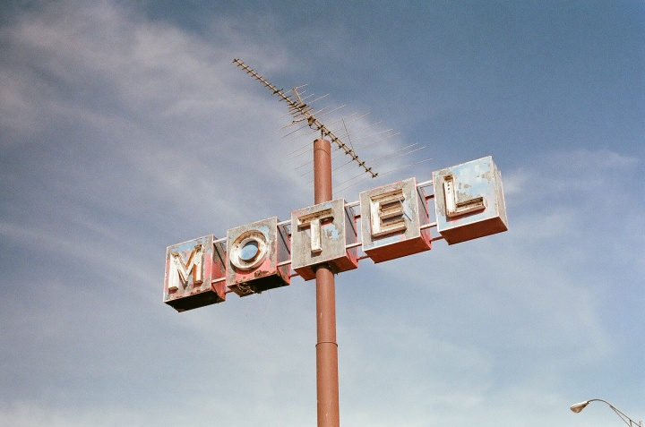 An old Motel sign.