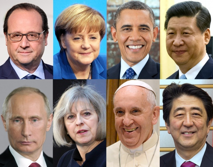 Various world leaders.
