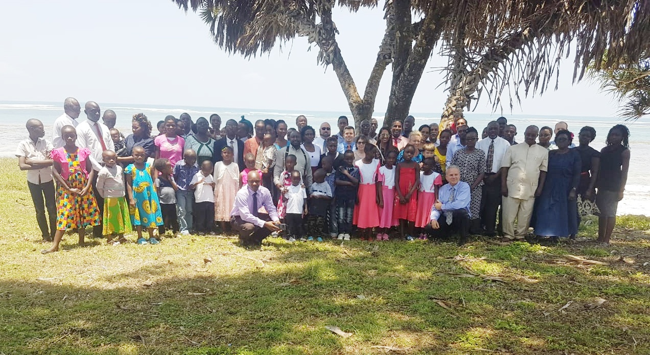 Feast of Tabernacles in Diani, Kenya.