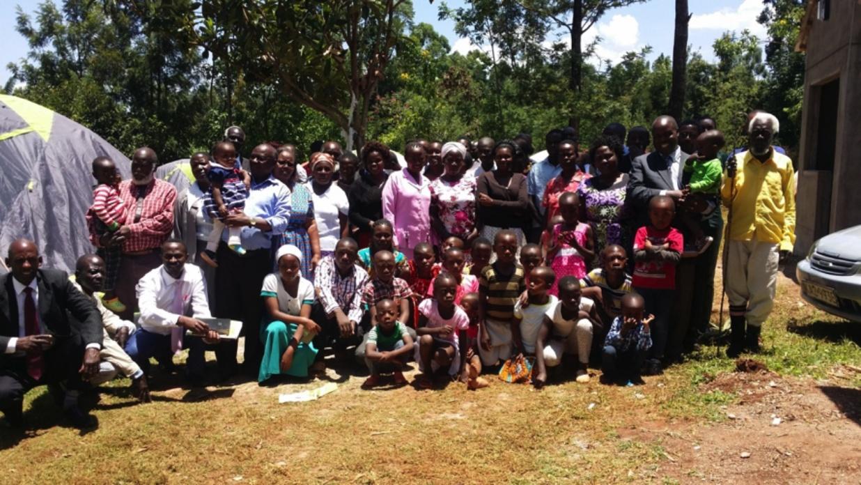 Feast of Tabernacles in Ogembo, Kenya.