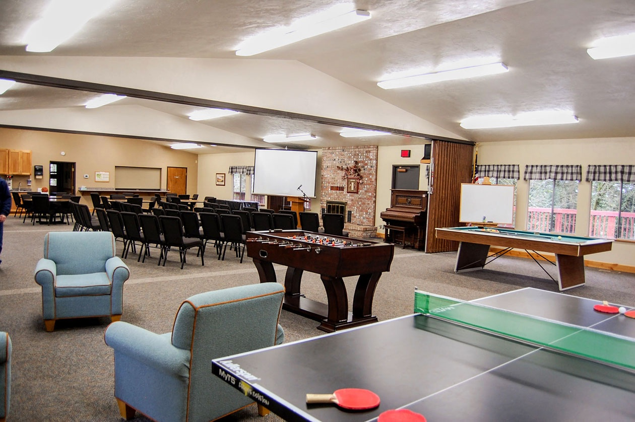 The facilities where the 2018 Young Adults Enrichment Weekend—Northwest Region will be held.