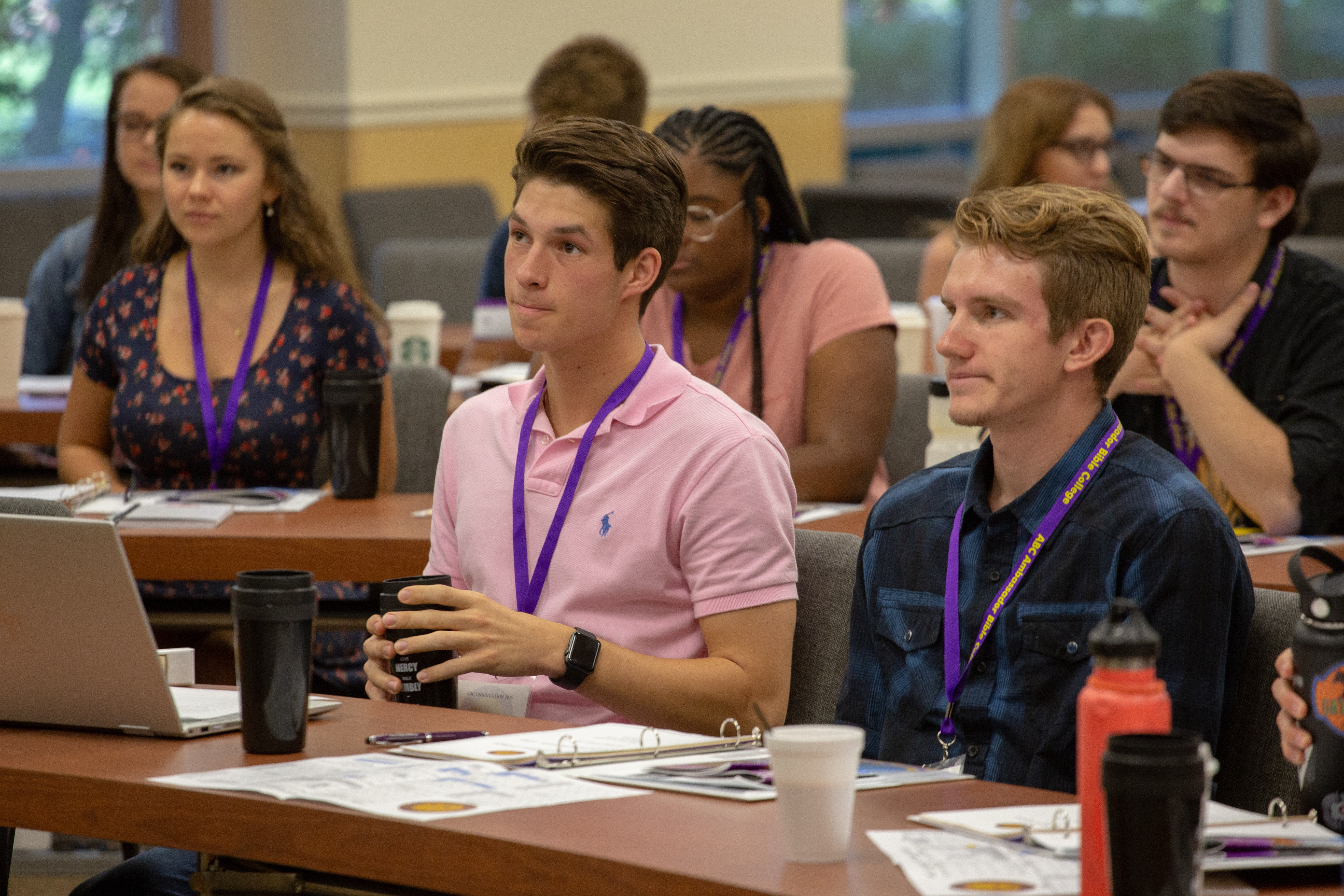 ABC Class of 2019 attends Orientation.