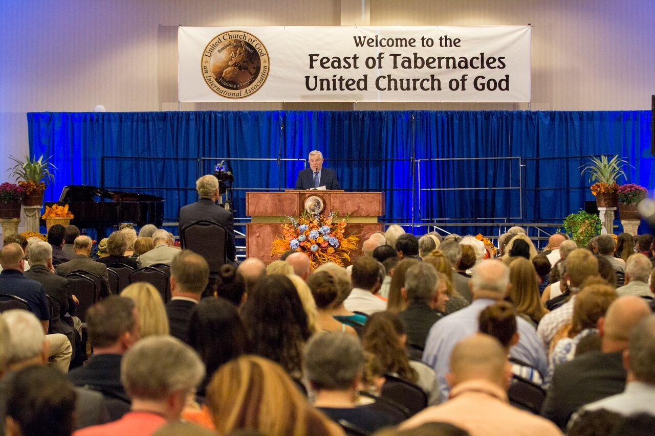A photo from 2016 Feast of Tabernacles being held in Panama City Beach, Florida.