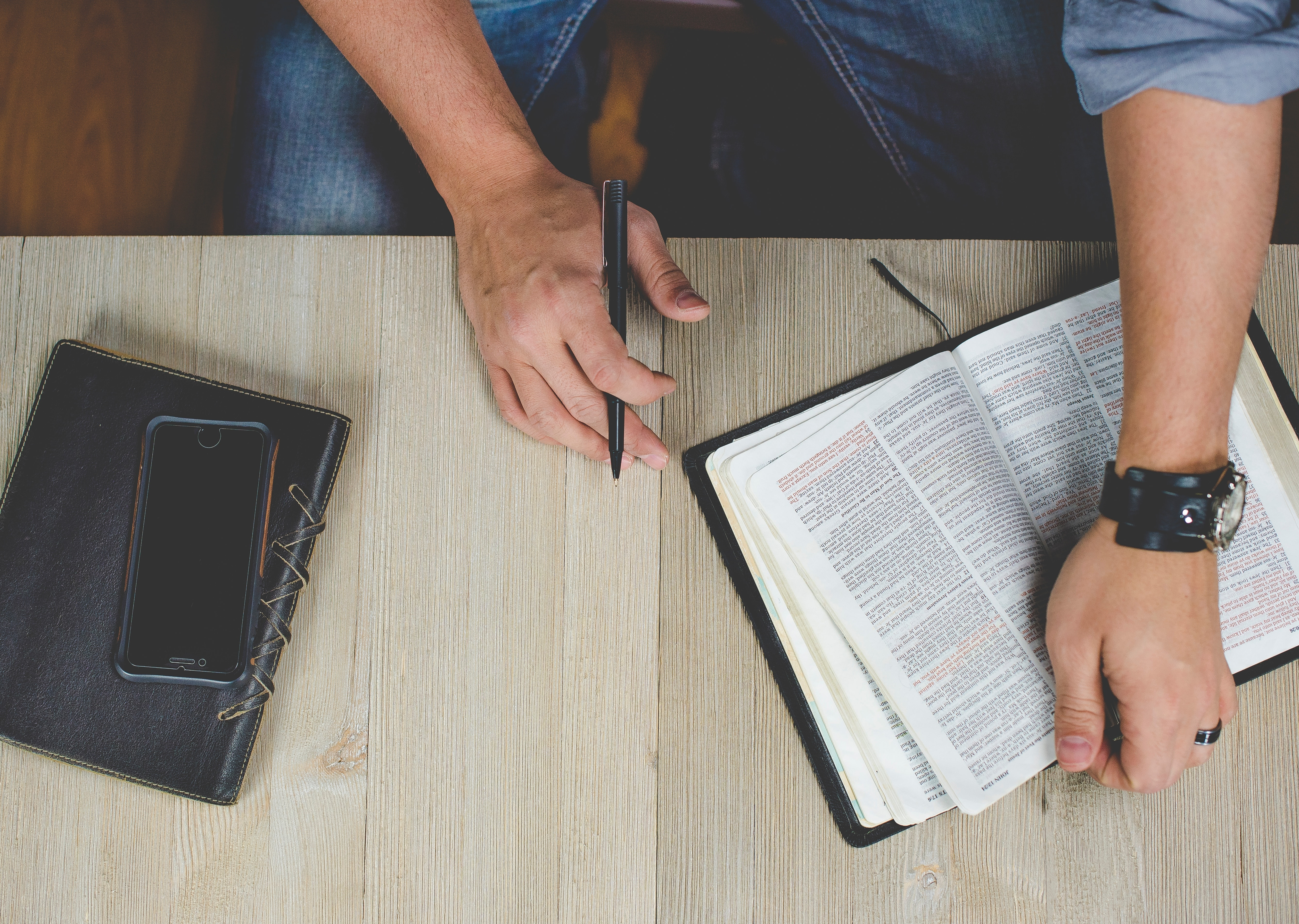 """Prayer, Bible study, fasting and meditation are  a Christian's """"tools of the trade""""."""