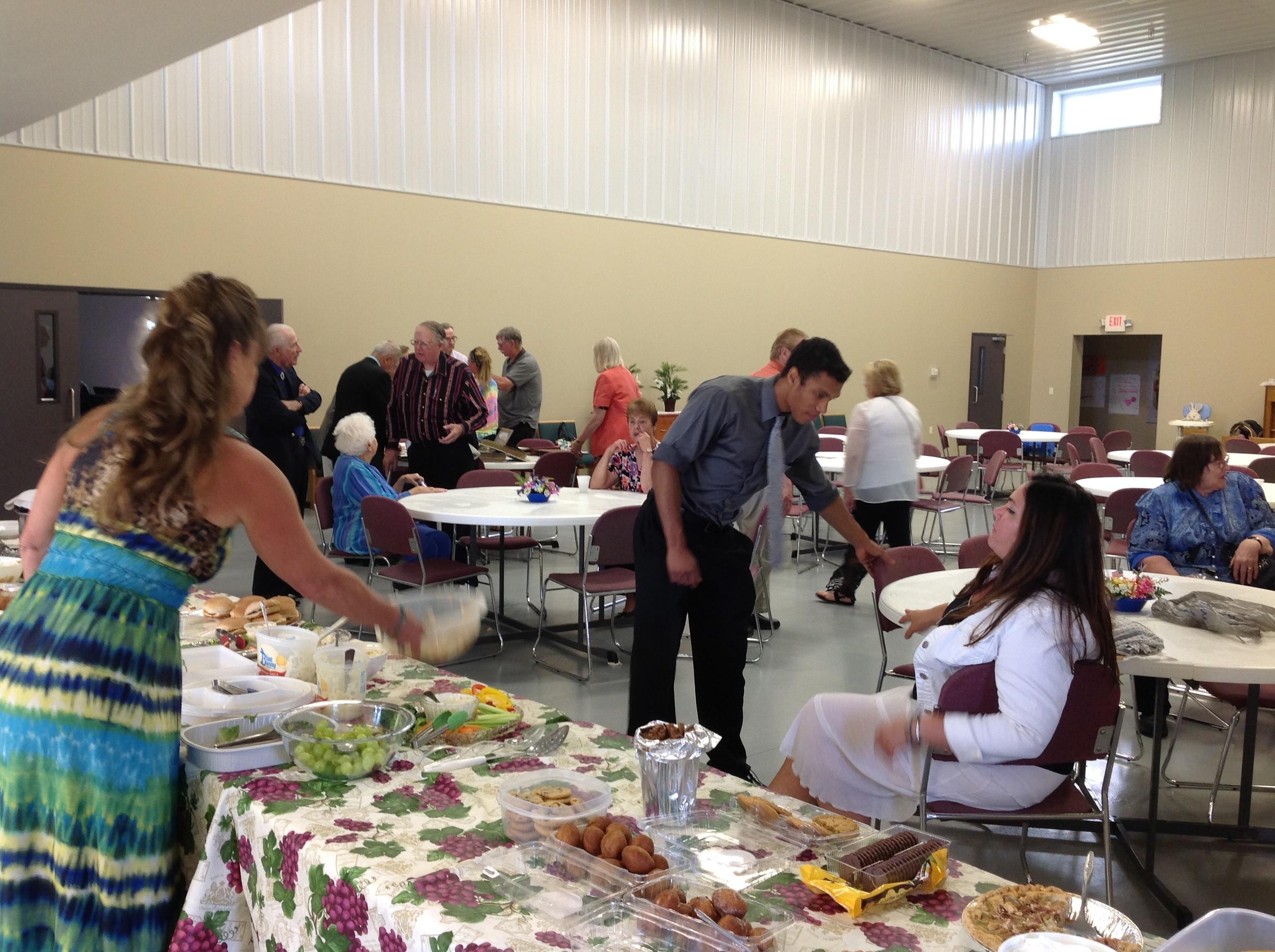 The Fargo, North Dakota congregation's 50th anniversary celebration.