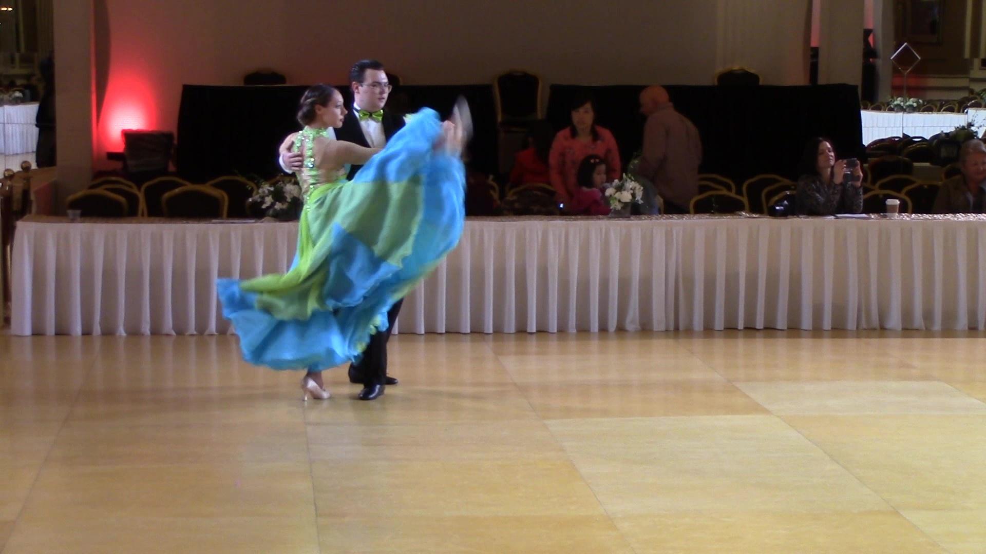 Alexander Schweitzer dances with his dance partner.