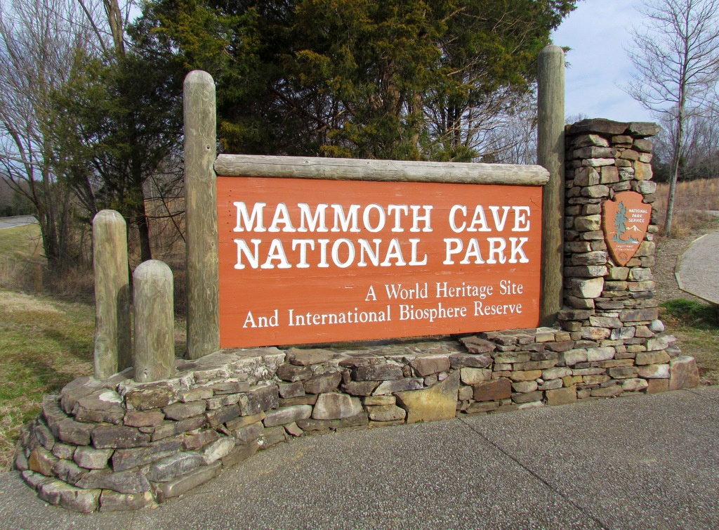 Mammoth Cave National Park is home to campsites, caves and hiking paths with restaurants and hotels just outside.