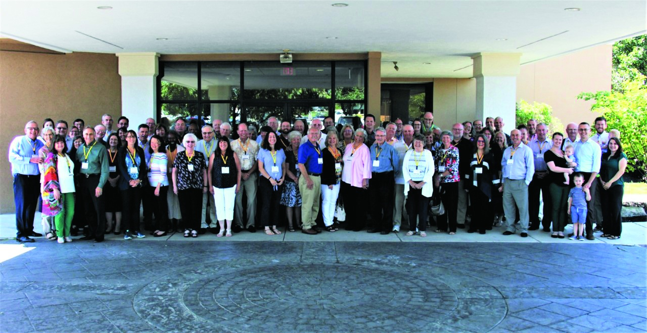 Group photo of the attendees of the northeast regional ministerial conference held in July.