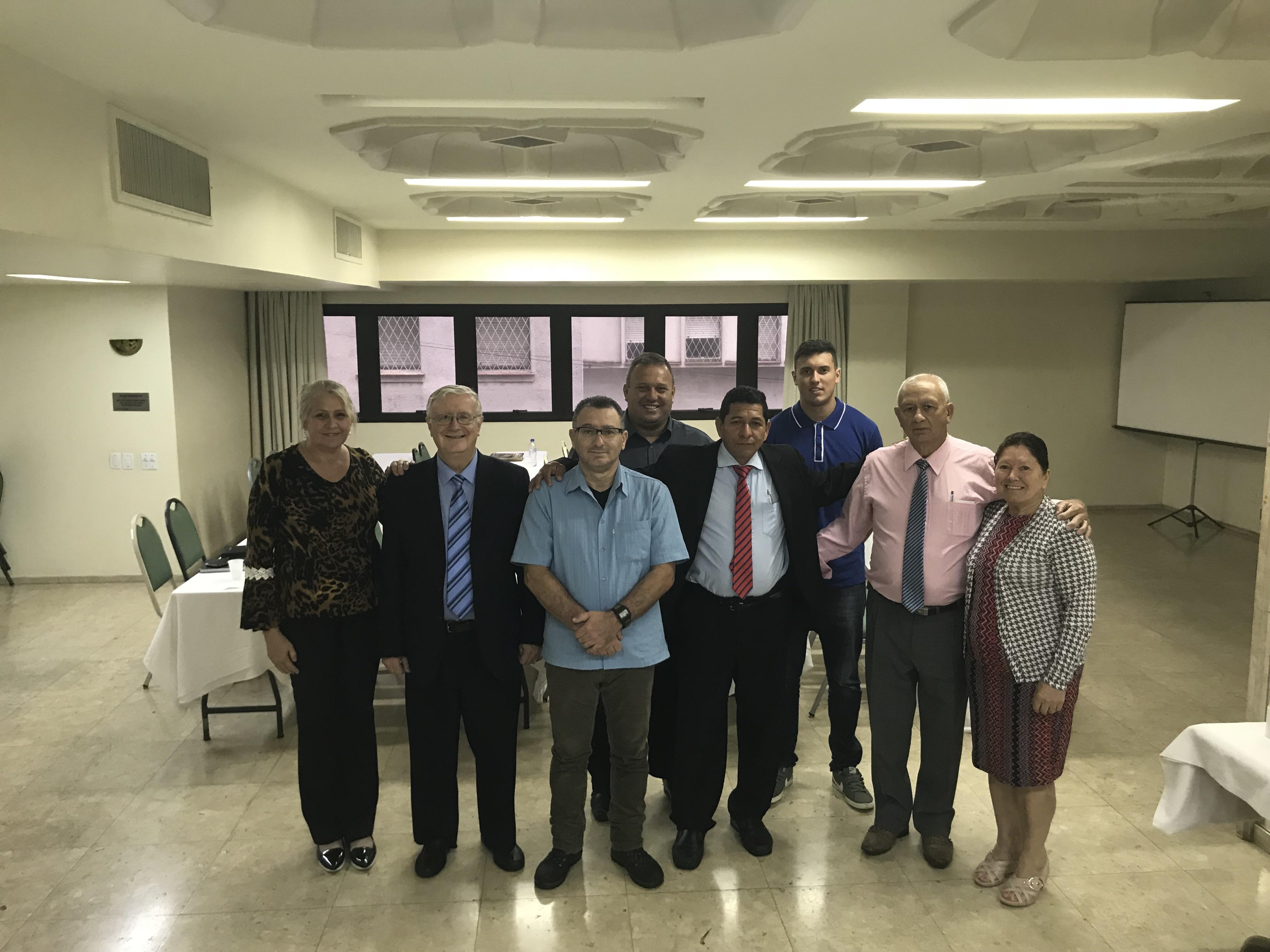 The group who attended the Kingdom of God Seminar in Porto Alegre, Brazil.