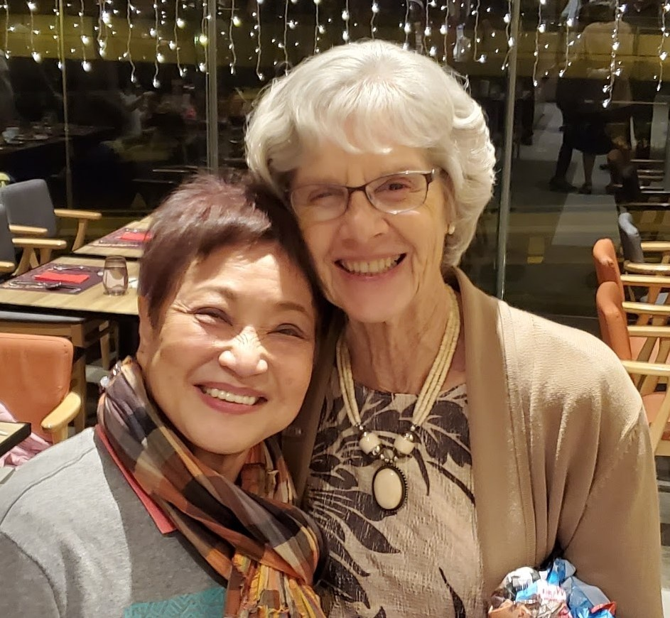Mary Ong and Bev Kubik