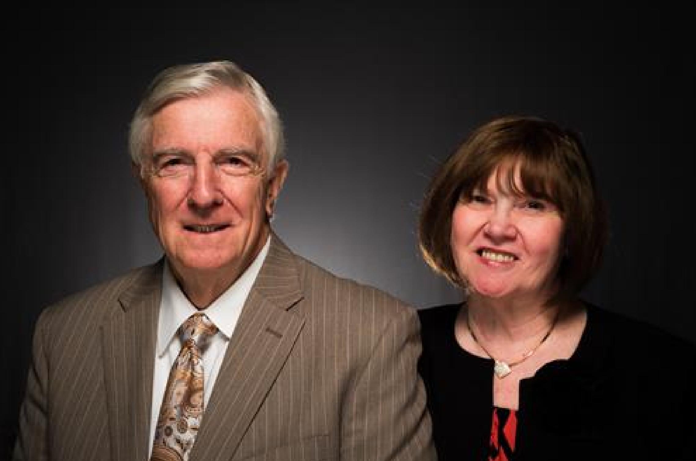 Dr. Don and Mrs. Wanda Ward