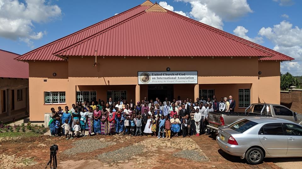 Church building dedicated in Blantyre, Malawi.