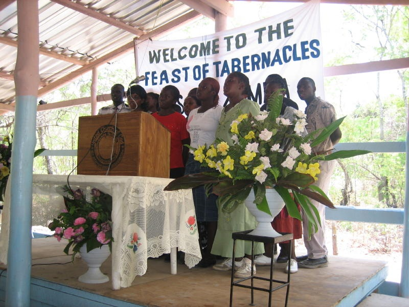 Feast of Tabernacles in Lusaka, Zambia.
