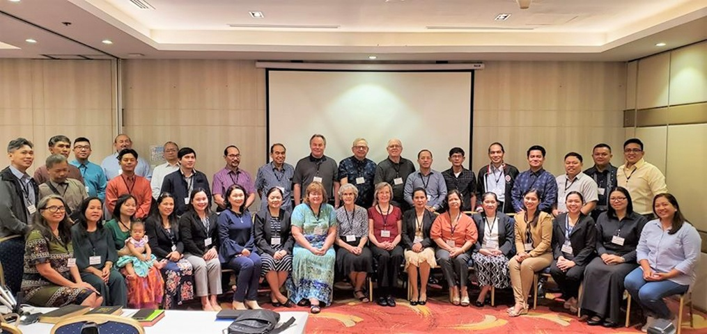 Attendees of the Pastoral Development Program in the Philippines.