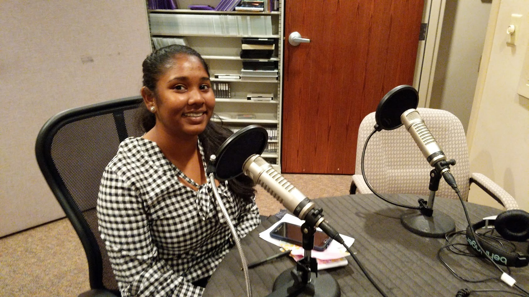 Stephanie Bissessier from Trinidad while she speaks with Victor Kubik on the Inside United podcast.