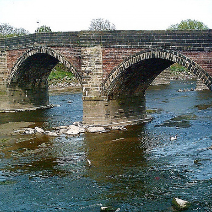 The Old Penwortham Bridge